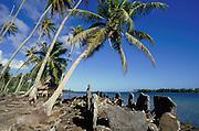 Marae (temple), Huahine, French Polynesia<br />
