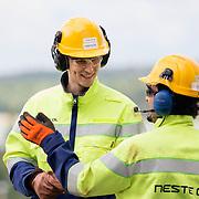 20130610 NAANTALI Neste Oil Oyj. Naantalin jalostamo. Oskari Hurme, jalostamo. Kuva: Ismo Henttonen.