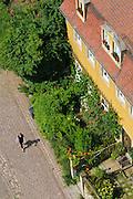 Meißen, Altstadt von oben, Sachsen, Deutschland.|.old town of Meissen, Saxony, Germany.