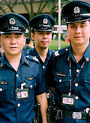 Singapore's finest: policemen on the beat
