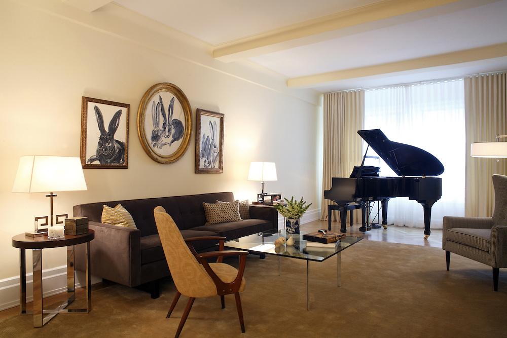 Living Room, Upper West Side, New York City