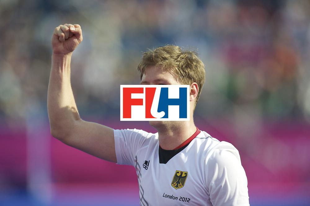LONDON - Olympische Spelen 2012.men .Semi Final.Australia v Germany.foto: Martin Haner  celebrating..FFU PRESS AGENCY COPYRIGHT FRANK UIJLENBROEK.