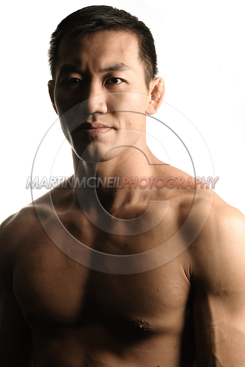 A portrait of mixed martial arts athlete Yushin Okami