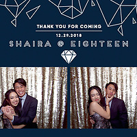 Shaira's 18th Birthday Photo Booth