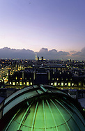 France. Paris. elevated view. Paris and the Eiffel tower , view from the Sorbonne astronomic observatory