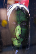 KELOWNA, CANADA - OCTOBER 26:  Witch at the Kelowna Rockets game on October 26, 2016 at Prospera Place in Kelowna, British Columbia, Canada.  (Photo By Cindy Rogers/Nyasa Photography,  *** Local Caption ***