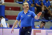 LIGNANO SABBIADORO, 07 LUGLIO 2015<br /> BASKET, EUROPEO MASCHILE UNDER 20<br /> ITALIA-CROAZIA<br /> NELLA FOTO: Stefano Sacripanti<br /> FOTO FIBA EUROPE/CASTORIA
