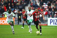 Carlos Eduardo - 14.12.2014 - Nice / Saint Etienne - 18eme journee de Ligue1<br />Photo : Manuel Blondeau / Icon Sport