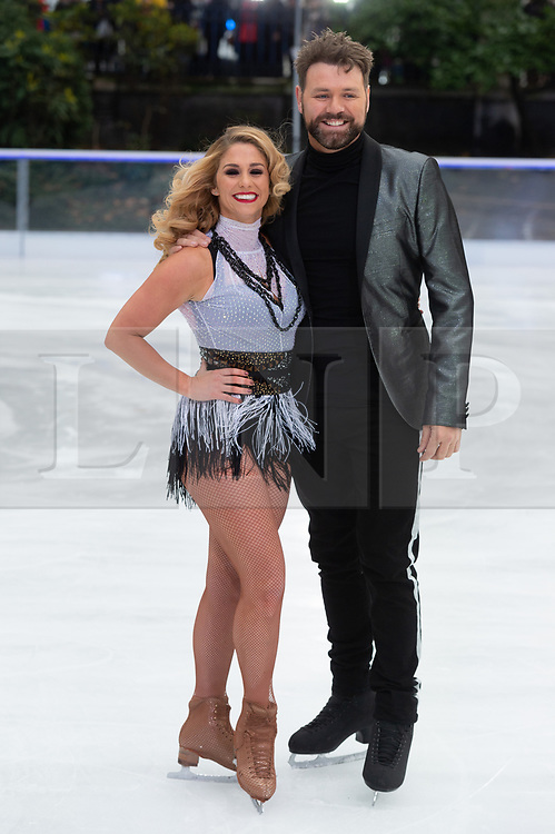 © Licensed to London News Pictures. 18/12/2018. London, UK. Alex Murphy and Brian McFadden attends a photocall for the launch of ITV's Dancing On Ice new series. Photo credit: Ray Tang/LNP