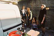 10 Years of Scum Tek, Mansfield Road, Belsize Park, London, UK, 8 August, 2015