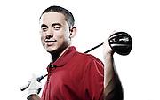 Portrait of Cal University freshman golfer Matt Cioffi at New Castle Country Club on June 1, 2013.