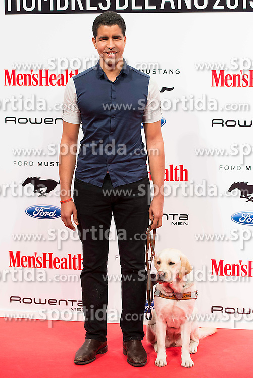 28.01.2016, Goya Theatre, Madrid, ESP, Men'sHealth Awards, im Bild Enhamed Enhamed attends // to the delivery of the Men'sHealth awards at Goya Theatre in Madrid, Spain on 2016/01/28. EXPA Pictures &copy; 2016, PhotoCredit: EXPA/ Alterphotos/ BorjaB.hojas<br /> <br /> *****ATTENTION - OUT of ESP, SUI*****
