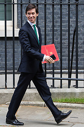 London, UK. 7 May, 2019.  Rory Stewart MP, Secretary of State for International Development, leaves 10 Downing Street following a Cabinet meeting.