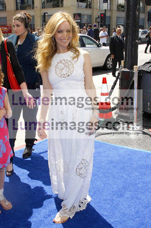 HOLLYWOOD, CA - APRIL 10, 2011: Leslie Mann at the Los Angeles premiere of 'Rio' held at the Grauman's Chinese Theater in Hollywood, USA on April 10, 2011.