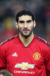December 12, 2018 - Valencia, Spain - December 12, 2018 - Valencia, Spain - .Marouane Fellaini of Manchester United during the UEFA Champions League, Group H football match between Valencia CF and Manchester United on December 12, 2018 at Mestalla stadium in Valencia, Spain (Credit Image: © Manuel Blondeau via ZUMA Wire)
