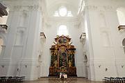 Kollegienkirche innen, das historische Zentrum der Stadt Salzburg, UNESCO Welterbestätte, Österreich | Collegiate Church inside the historical center of the city of Salzburg, a UNESCO World Heritage Site, Austria