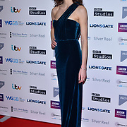 Natalie Cutler attends The Writers' Guild Awards at Royal College of Physicians on 15th January 2018.