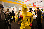 The IFA (Internationale Funkausstellung) in Berlin is the World's biggest trade fair for consumer electronics..Kodak pantomimes.