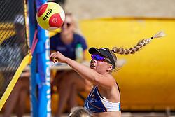 23-08-2019 NED; DELA NK Beach Volleyball Qualification, Scheveningen<br /> First day NK Beachvolleyball / Sarah van Esch