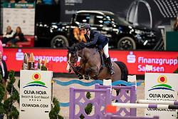 TWOMEY Billy (IRL), Lady Lou<br /> Leipzig - Partner Pferd 2019<br /> Championat von Leipzig<br /> 19. Januar 2019<br /> © www.sportfotos-lafrentz.de/Stefan Lafrentz