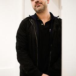 Bruno Salamone, illustrator. Paris, France. 14 November 2009. Photo: Antoine Doyen
