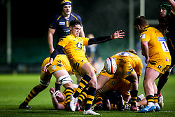 Sam Wolstenholme of Wasps A - Mandatory by-line: Robbie Stephenson/JMP - 16/12/2019 - RUGBY - Sixways Stadium - Worcester, England - Worcester Cavaliers v Wasps A - Premiership Rugby Shield