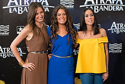 "26.08.2015, Kinepolis Cinema, Madrid, ESP, Atrapa la Bandera, Premiere, im Bild Weather host Rosemary Alker (L), Laura Madrueño (C), Alba Lago (R) attends to the photocall // during the premiere of spanish cartoon 'Capture The Flag"" at the Kinepolis Cinema in Madrid, Spain on 2015/08/26. EXPA Pictures © 2015, PhotoCredit: EXPA/ Alterphotos/ BorjaB.hojas<br /> <br /> *****ATTENTION - OUT of ESP, SUI*****"