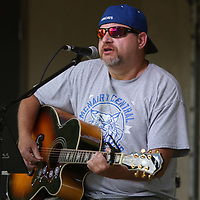 Michael Wiggens of Tennessee, performed Saturday at the 8th annual Fourth of July celebration in Guntown