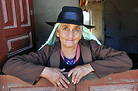 Campesina woman shopkeeper in Postrervalle, Santa Cruz, Bolivia