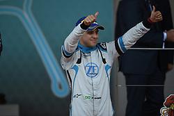 May 11, 2019 - Monaco, Monaco - Felipe Massa on podium Cerimony of the 3rd edition of Monaco E-Prix, in port neighborhood in Monaco, France  (Credit Image: © Andrea Diodato/NurPhoto via ZUMA Press)