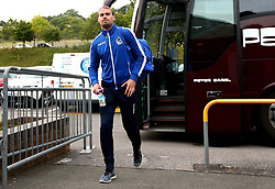 Sam Slocombe of Bristol Rovers arrives at Adam's Park for the Checkatrade Trophy Match against Wycombe Wanderers - Mandatory by-line: Robbie Stephenson/JMP - 29/08/2017 - FOOTBALL - Adam's Park - High Wycombe, England - Wycombe Wanderers v Bristol Rovers - Checkatrade Trophy
