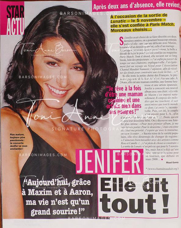 Public Magazine Full Page - Singer Jenifer Bartoli by Tony Barson