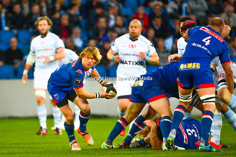 Charl McLEOD - 07.03.2015 -  Racing Metro / Grenoble  -  19eme journee de Top 14<br />