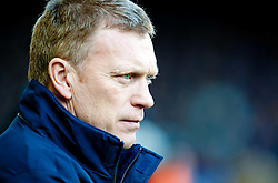 20.02.2010, Goodison Park, Liverpool, ENG, PL, Everton FC vs Manchester United, im Bild Everton's Manager / Trainer David Moyes, EXPA Pictures © 2010 for Austria, Croatia and Germany only, Photographer EXPA / Propaganda / David Rawcliffe / for Slovenia SPORTIDA PHOTO AGENCY.