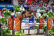 Andre Brandt - Thelma Hastak<br /> Gothenburg Horse Show 2019<br /> © DigiShots