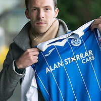 St Johnstone new signing David McMillan pictured at McDiarmid Park this morning after he signed a two and a half year deal…13.12.17<br />see story by Gordon Bannerman on 07729 865788<br />Picture by Graeme Hart.<br />Copyright Perthshire Picture Agency<br />Tel: 01738 623350  Mobile: 07990 594431
