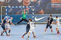 Arret Thierry Omeyer - 22.04.2015 - PSG / Creteil - 21eme journee de D1<br /> Photo : Andre Ferreira / Icon Sport