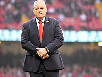 Rugby Union - 2019 Guinness Six Nations Championship - Wales vs. England<br /> <br /> Wales coach Warren Gatland looks down before the match , at the Principality Stadium (Millennium Stadium).<br /> <br /> COLORSPORT/WINSTON BYNORTH