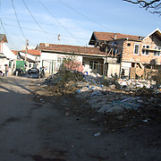 Fakulteta Mahala, the largest Roma ghetto in Sofia, Bulgaria is a world apart from the rest of the city. Here the normal city services do not exist. The public transport, health services, road management, waste collection and so forth do not reach the Roma ghetto.