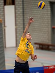 21-10-2017 NED: SV Taurus - Zaanstad, Houten<br /> Zaanstad verliest met 3-0 van Taurus / Erwin Huinen #12 of Zaanstad