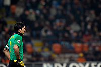Gianluigi Buffon (Juventus)<br /> Milano 28/01/2010 Stadio Giuseppe Meazza San Siro<br /> Inter Juventus - Quarti di Finale di Coppa Italia Tim Cup 2009-10.<br /> Foto Giorgio Perottino / Insidefoto