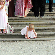 NLD/Apeldoorn/20070901 - Viering 40ste verjaardag Prins Willem Alexander, prinses Amalia en Ariana spelen