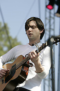 June 16, 2006; Manchester, TN.  2006 Bonnaroo Music Festival. Bright Eyes performs at Bonnaroo 2006.  Photo by Bryan Rinnert
