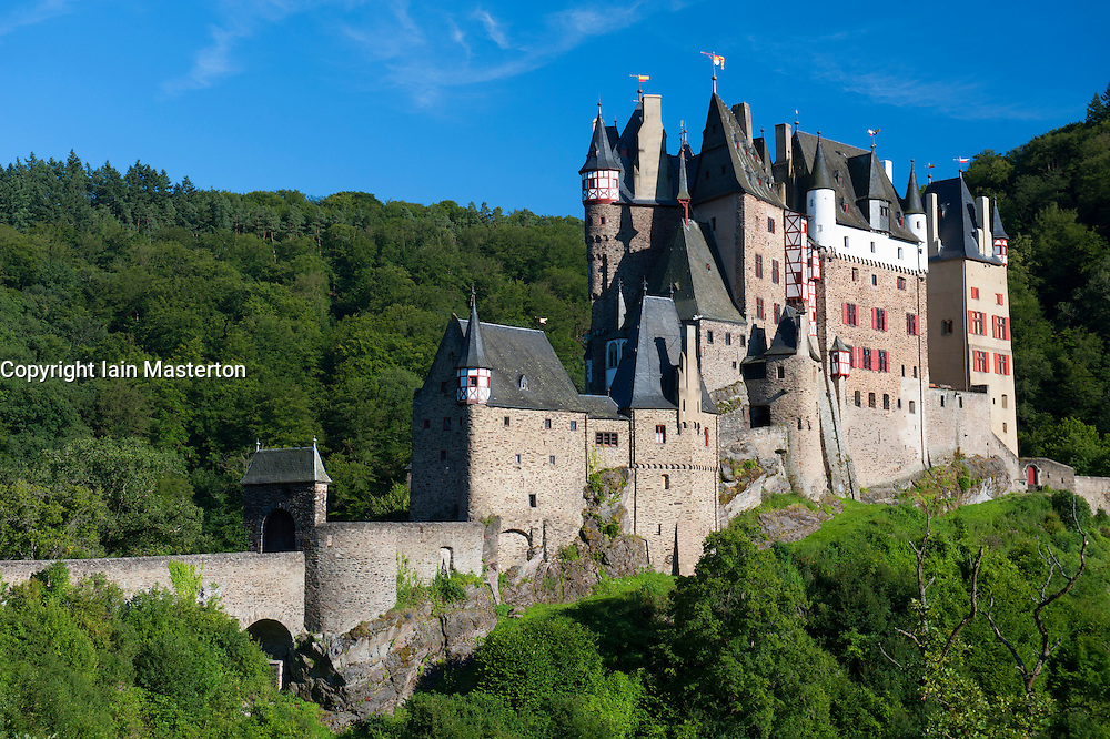 Burg Eltz castle near Mosel Valley in Germany