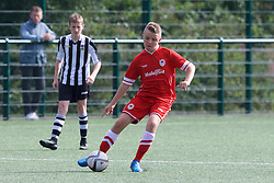 NEWPORT, WALES - Thursday, August 4, 2016: North Wales Academy Boys' Lewis Hopwood during the Welsh Football Trust Cymru Cup 2016 at Newport Stadium. (Pic by Paul Greenwood/Propaganda)