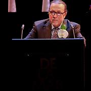 NLD/Amsterdam/20110722 - Afscheidsdienst voor John Kraaijkamp, toespraak van Lex Daniels