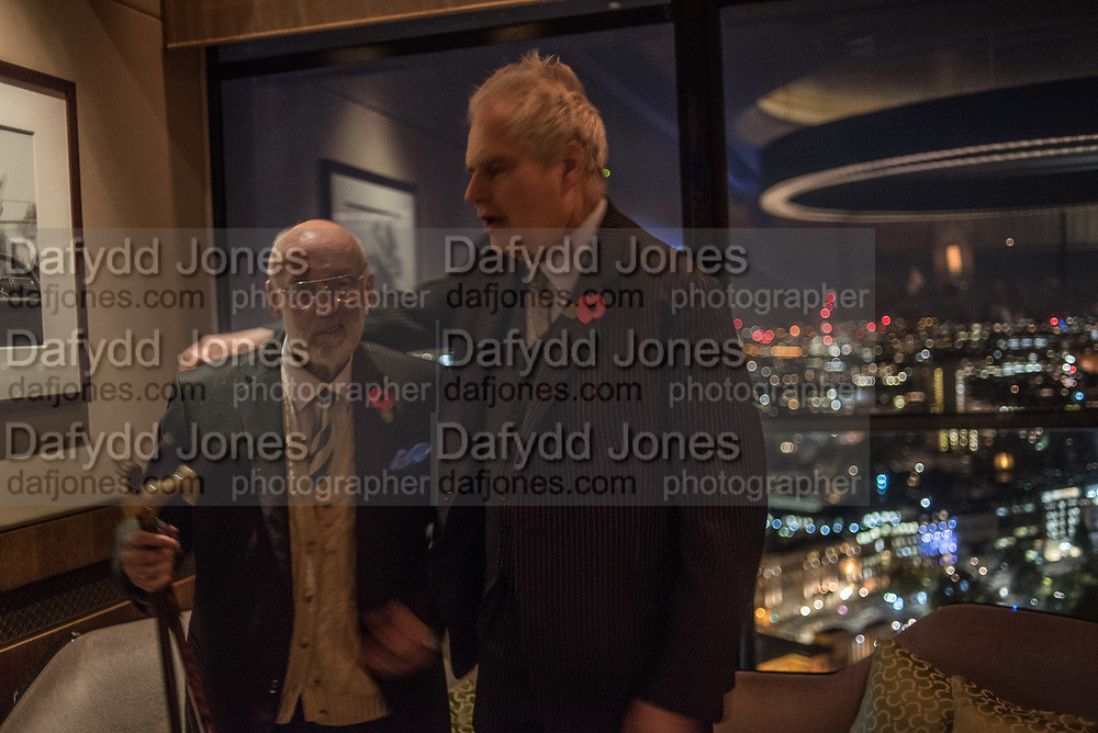 David Kirke,; Ed Hulton, Hilton Hyde Park corner, London, 8 November 2017