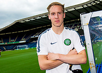 05/08/14  <br /> BT MURRAYFIELD STADIUM - EDINBURGH<br /> Celtic's Stefan Johansen looks ahead to taking on Legia Warsaw