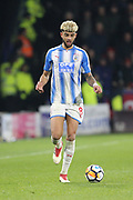 Huddersfield's Phili Billing during the The FA Cup match between Huddersfield Town and Manchester United at the John Smiths Stadium, Huddersfield, England on 17 February 2018. Picture by George Franks.