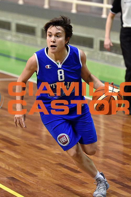 DESCRIZIONE : Pordenone Amichevole Pre Eurobasket 2015 Nazionale Italiana Femminile Senior Italia Australia Italy Australia<br /> GIOCATORE : Giulia Gatti<br /> CATEGORIA : palleggio penetrazione<br /> SQUADRA : Italia Italy<br /> EVENTO : Amichevole Pre Eurobasket 2015 Nazionale Italiana Femminile Senior<br /> GARA : Italia Australia Italy Australia<br /> DATA : 28/05/2015<br /> SPORT : Pallacanestro<br /> AUTORE : Agenzia Ciamillo-Castoria/GiulioCiamillo<br /> Galleria : Nazionale Italiana Femminile Senior<br /> Fotonotizia : Pordenone Amichevole Pre Eurobasket 2015 Nazionale Italiana Femminile Senior Italia Australia Italy Australia<br /> Predefinita :